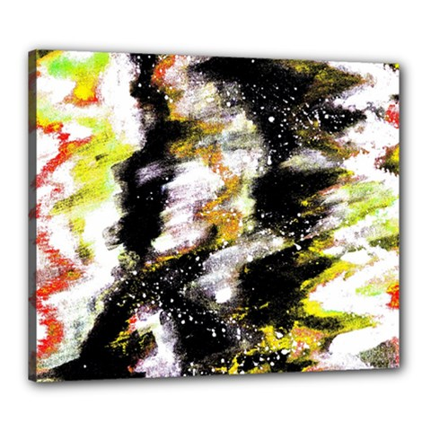 Canvas Acrylic Digital Design Art Canvas 24  X 20