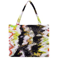 Canvas Acrylic Digital Design Art Mini Tote Bag