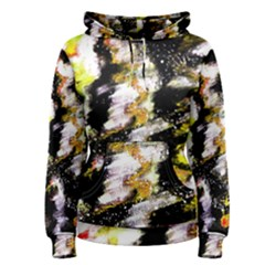Canvas Acrylic Digital Design Art Women s Pullover Hoodie