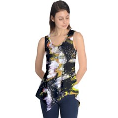 Canvas Acrylic Digital Design Art Sleeveless Tunic