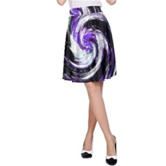 Canvas Acrylic Digital Design A Line Skirt