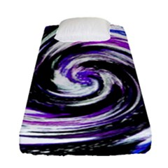 Canvas Acrylic Digital Design Fitted Sheet (single Size)