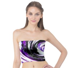 Canvas Acrylic Digital Design Tube Top