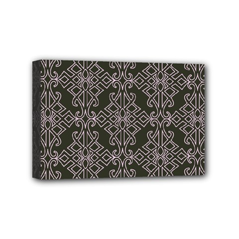 Line Geometry Pattern Geometric Mini Canvas 6  X 4