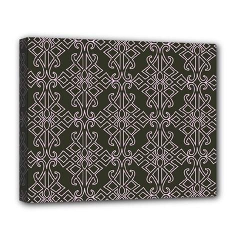 Line Geometry Pattern Geometric Deluxe Canvas 20  X 16