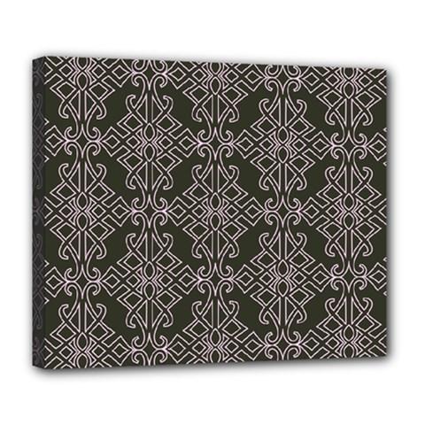 Line Geometry Pattern Geometric Deluxe Canvas 24  X 20