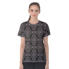 Line Geometry Pattern Geometric Women s Cotton Tee