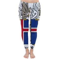 Coat Of Arms Of Iceland Classic Winter Leggings