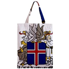 Coat Of Arms Of Iceland Zipper Classic Tote Bag