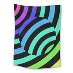 Colorful Roulette Ball Medium Tapestry