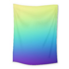 Purple Blue Green Medium Tapestry