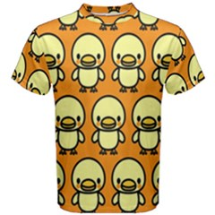 Small Duck Yellow Men s Cotton Tee