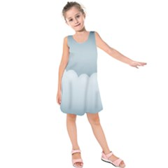 Soft Pure Backgrounds Kids  Sleeveless Dress