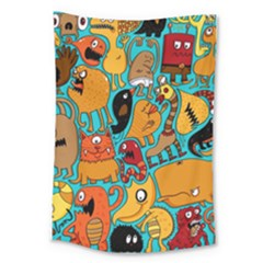 Creature Cluster Large Tapestry