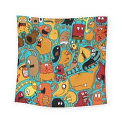 Creature Cluster Square Tapestry (small)