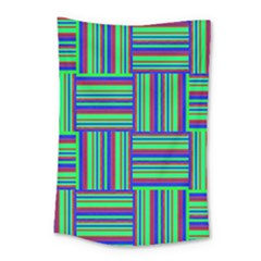 Fabric Pattern Design Cloth Stripe Small Tapestry