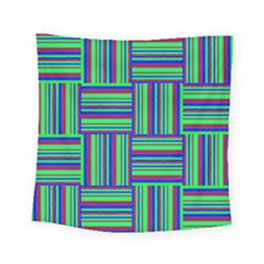 Fabric Pattern Design Cloth Stripe Square Tapestry (small)