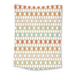 Lab Pattern Hexagon Multicolor Medium Tapestry
