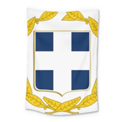 Coat Of Arms Of Greece Military Variant Small Tapestry