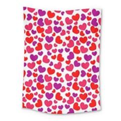 Love Pattern Wallpaper Medium Tapestry
