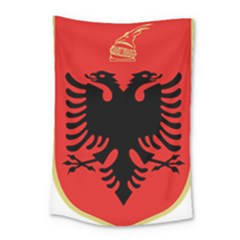 Coat Of Arms Of Albania Small Tapestry