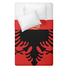 Coat Of Arms Of Albania Duvet Cover Double Side (single Size)