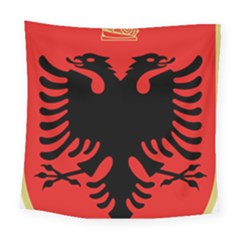 Coat Of Arms Of Albania Square Tapestry (large)