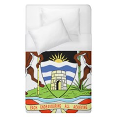 Coat Of Arms Of Antigua And Barbuda Duvet Cover (single Size)