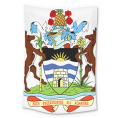 Coat Of Arms Of Antigua And Barbuda Large Tapestry