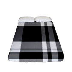 Black Fitted Sheet (full/ Double Size)
