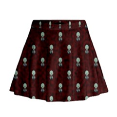 Bloody Cute Zombie Mini Flare Skirt