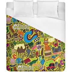 C Pattern Duvet Cover (california King Size)