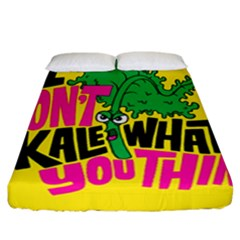 Idont Kale Think Fitted Sheet (california King Size)