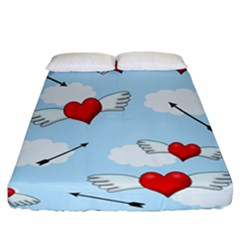 Love Hunting Fitted Sheet (california King Size)