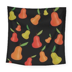 Pears Pattern Square Tapestry (large)