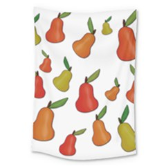 Decorative Pears Pattern Large Tapestry