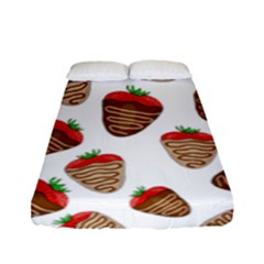 Chocolate Strawberries  Fitted Sheet (full/ Double Size)