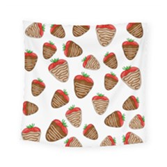 Chocolate Strawberries  Square Tapestry (small)