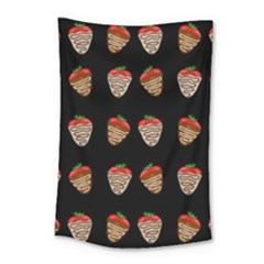 Chocolate Strawberies Small Tapestry