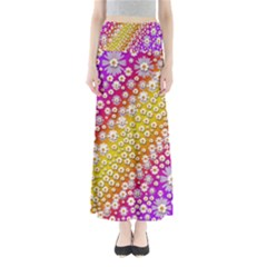 Falling Flowers From Heaven Maxi Skirts