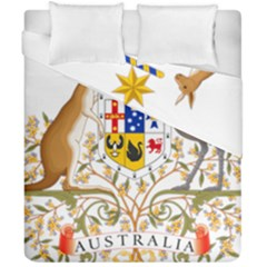 Coat Of Arms Of Australia Duvet Cover Double Side (california King Size)