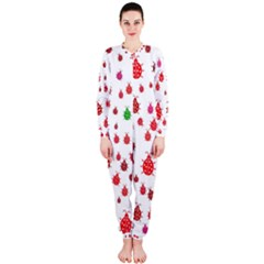 Beetle Animals Red Green Fly Onepiece Jumpsuit (ladies)