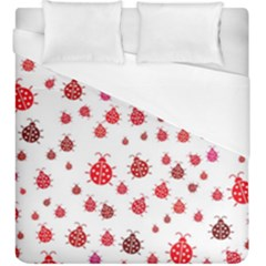 Beetle Animals Red Green Fly Duvet Cover (king Size)