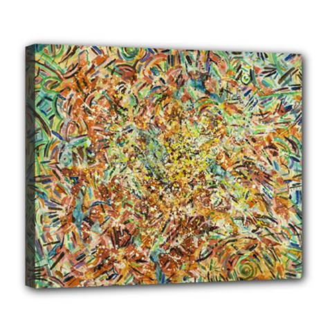 Art Modern Painting Acrylic Canvas Deluxe Canvas 24  X 20