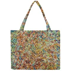 Art Modern Painting Acrylic Canvas Mini Tote Bag