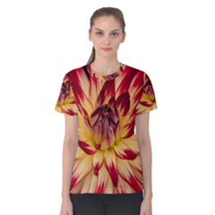 Bloom Blossom Close Up Flora Women s Cotton Tee
