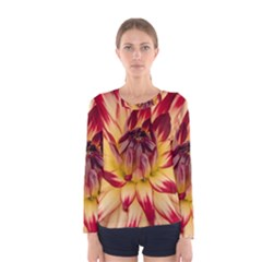 Bloom Blossom Close Up Flora Women s Long Sleeve Tee