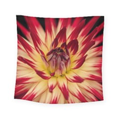 Bloom Blossom Close Up Flora Square Tapestry (small)
