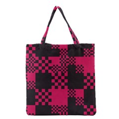 Cube Square Block Shape Creative Grocery Tote Bag