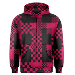 Cube Square Block Shape Creative Men s Zipper Hoodie
